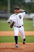 Detroit Tigers Drake Britton (66) during a minor league Spring Training game against the Washington Nationals on March 28, 2016 at Tigertown in Lakeland, Florida.  (Mike Janes/Four Seam Images)