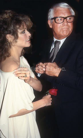 Farrah Fawcett and Cary Grant 1978<br /> Photo By Adam Scull/PHOTOlink.net/MediaPunch