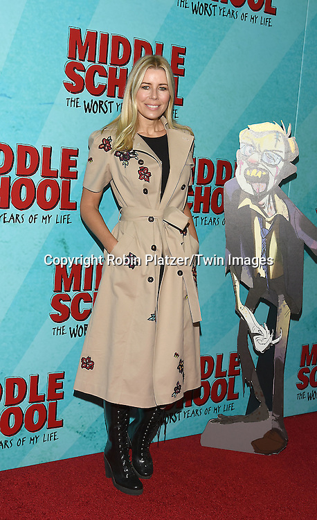 """Aviva Drescher attends the """"Middle School: The Worst Years of My Life"""" New York Screening on October 1, 2016 at the Regal E-Walk in New York, New York, USA.<br /> <br /> photo by Robin Platzer/Twin Images<br />  <br /> phone number 212-935-0770"""