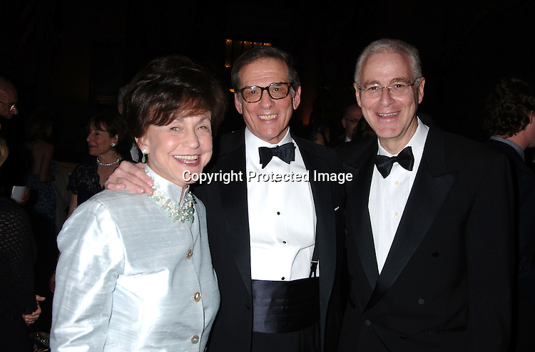 Robert Caro and wife and Ron Chernow ..at The Pen American Center's 2006 Literary Gala on ..April 18, 2006 at The American Museum of Natural History. ..Robin Platzer, Twin Images