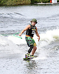 September 13, 2014:  Scenes from the WWA Wakeboard World Championships at Mills Pond Park in Fort Lauderdale, FL.  Men's  Professional Wakeboarder Colby Bernier USA. Liz Lamont/ESW/CSM
