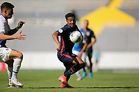 GUADALAJARA, MEXICO - MARCH 18: Jonathan Lewis #7 of the United States during a game between Costa Rica and USMNT U-23 at Estadio Jalisco on March 18, 2021 in Guadalajara, Mexico.