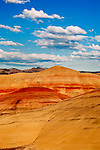 The Painted Hills division of John Day Fossile Beds National Monument contains not just stunningingly beautiful landscapes and interesting geologic history, but also tranquil peace and quiet.