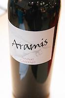 Aramis Tannat Cabernet, Vin de Pays des Cotes de Gascogne, France