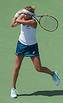 March 31 2016: Timea Bacsinszky (SUI) battles against Svetlana Kuznetsova (RUS) in the first set at the Miami Open being played at Crandon Park Tennis Center in Miami, Key Biscayne, Florida.