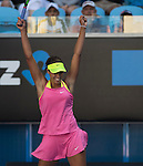 Madison Keys (USA) defeated Madison Brengle (USA) 6-2, 6-4