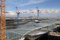 - yard of new Milan fair at Rho-Pero....- cantiere della nuova fiera di Milano a Rho-Pero