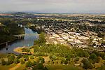 Aerial View of Lebanon, Oregon