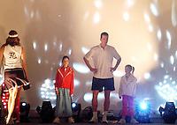 14-02-2005,Rotterdam, ABNAMROWTT , modeshow met Richard Krajicek