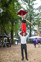 Sanca Acrobatics & Circus Arts, Arts A Glow Festival 2017, Dottie Harper Park, Burien, WA, USA.