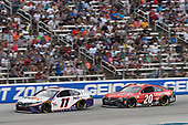 #11: Denny Hamlin, Joe Gibbs Racing, Toyota Camry FedEx Office, #20: Christopher Bell, Joe Gibbs Racing, Toyota Camry Craftsman