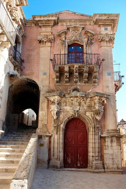 Baroque palace of Ragusa Ibla, Sicily