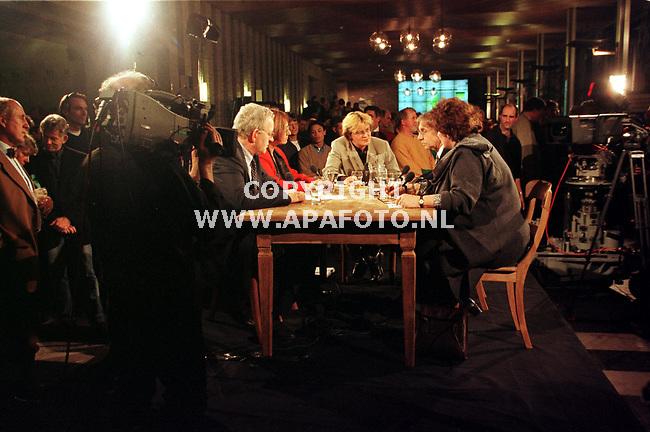 Arnhem,03-03-99  foto:Koos Groenewold (APA)<br />Sfeer lijstrekkersdebat voor Omroep gelderland.