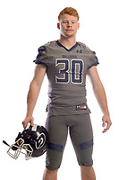 NWA Democrat-Gazette/ANDY SHUPE<br /> Greenwood's Hunter Wilkinson is the Northwest Arkansas Democrat-Gazette Division I Football Newcomer of the Year. Wednesday, Dec. 12, 2018.