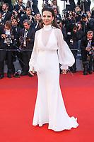 Juliette Binoche sur le tapis rouge pour la projection du film en competition OKJA lors du soixante-dixiËme (70Ëme) Festival du Film ‡ Cannes, Palais des Festivals et des Congres, Cannes, Sud de la France, vendredi 19 mai 2017.