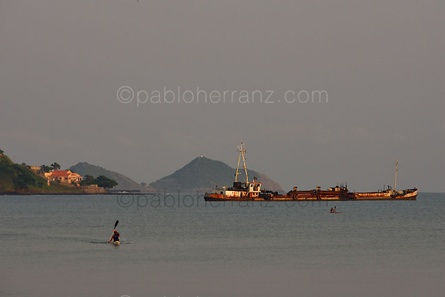 Imagenes Sao Tome e Principe Diciembre 2007.