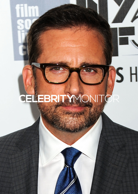 NEW YORK CITY, NY, USA - OCTOBER 10: Steve Carell arrives at the 52nd New York Film Festival - 'Foxcatcher' Premiere held at Alice Tully Hall on October 10, 2014 in New York City, New York, United States. (Photo by Celebrity Monitor)