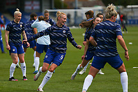 2nd May 2021; Kingsmeadow, London, England;  All smiles for Sophie Ingle   Chelsea during the UEFA Womens Champions League Semi Final game between Chelsea and Bayern Munich at Kingsmeadow