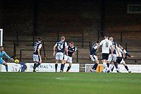 21st November 2020; Somerset Park, Ayr, South Ayrshire, Scotland; Scottish Championship Football, Ayr United versus Dundee FC; Cammy Smith of Ayr United scores the opening goal to put his side 1-0 ahead in the 3rd minute