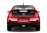 Straight rear view of a 2011 Chevrolet Volt
