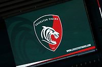 21st November 2020; Welford Road Stadium, Leicester, Midlands, England; Premiership Rugby, Leicester Tigers versus Gloucester Rugby; The giant scoreboard at the Mattoli Woods Welford Road Stadium