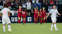 Carson, CA - Thursday August 03, 2017: Megan Rapinoe during a 2017 Tournament of Nations match between the women's national teams of the United States (USA) and Japan (JAP) at StubHub Center.