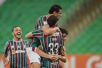 RIO DE JANEIRO (RJ), 12/09/2021 - FLUMINENSE-SÃO PAULO - Nino, do Fluminense, comemora gol. Partida entre Fluminense e São Paulo, válida pelo Campeonato Brasileiro 2021, realizada no Estádio do Maracanã, neste domingo (12).