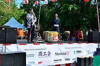 Montreal (Qc) CANADA - August 13, 2011 - Monsieur Takanari Kakuda, Consul-Général Adjoint du Japon s'adressa en premier à la foule <br /> afin de remercier tous les dignitaires présents, les bénévoles pour leurs efforts ainsi que l'association de Commerce et Industrie Japonaise ''shokokai''.