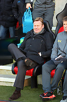 Pictured: Southampton manager Ronald Koeman Sunday 01 February 2015<br />