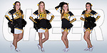 November 29, 2016- Tuscola, IL- The 2016-2017 Tuscola Warrior Basketball Cheerleader Seniors. From left are Baylee Tackitt, Caylen Moyer, Miah Holmes, and Peyton Kresin. [Photo Illustration: Douglas Cottle]