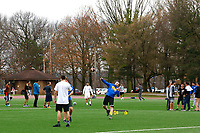 Schenley Park was full of people playing football, soccer, frisbee, and generally exercising on the first day of spring on Thursday March 19, 2020 in Pittsburgh, Pennsylvania. (Photo by Jared Wickerham/Pittsburgh City Paper)