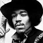 JIMI HENDRIX in the UK in the 60's