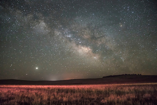 The Milky Way comes alive during the night sky near Zion National Park, Utah