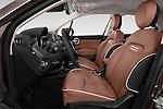 Front seat view of 2017 Fiat 500X Trekking 5 Door SUV Front Seat  car photos