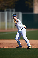 Joshua George during the Under Armour All-America Tournament powered by Baseball Factory on January 18, 2020 at Sloan Park in Mesa, Arizona.  (Zachary Lucy/Four Seam Images)