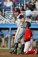 August 2nd 2008:  Chad Rice of the State College Spikes, Class-A affiliate of the Pittsburgh Pirates, during a game at Dwyer Stadium in Batavia, NY.  Photo by:  Mike Janes/Four Seam Images