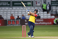 Jimmy Neesham hits 6 runs for  Essex during Essex Eagles vs Hampshire Hawks, Vitality Blast T20 Cricket at The Cloudfm County Ground on 11th June 2021