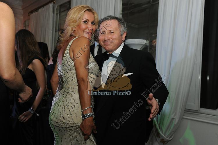 DANIELA JACOROSSI E VINCENZO PISTILLI<br /> COMPLEANNO SALVATORE D'AGOSTINO<br /> HOTEL MAJESTIC ROMA 2011