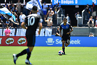 SAN JOSE, CA - JUNE 8: Marcos Lopez #27 during a game between FC Dallas and San Jose Earthquakes at Avaya Stadium on June 8, 2019 in San Jose, California.