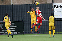 Jordan Clark of Hornchurch during Bowers & Pitsea vs Hornchurch, Emirates FA Cup Football at The Len Salmon Stadium on 2nd October 2021