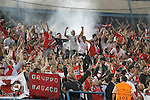 SL Benfica's supporters celebrate goal during Champions League 2015/2016 match. September 30,2015. (ALTERPHOTOS/Acero)