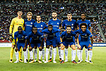 Chelsea FC squad pose for team photo during the International Champions Cup match between Chelsea FC and FC Bayern Munich at National Stadium on July 25, 2017 in Singapore. Photo by Marcio Rodrigo Machado / Power Sport Images