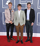 Foster the People attends The 54th Annual GRAMMY Awards held at The Staples Center in Los Angeles, California on February 12,2012                                                                               © 2012 DVS / Hollywood Press Agency