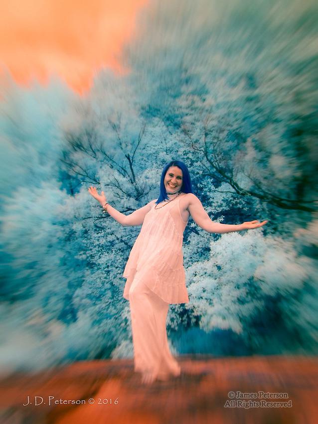 Goddess Raquel #1 (Infrared)