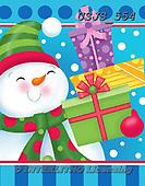 Janet, CHRISTMAS SANTA, SNOWMAN, WEIHNACHTSMÄNNER, SCHNEEMÄNNER, PAPÁ NOEL, MUÑECOS DE NIEVE, paintings+++++,USJS554,#x#