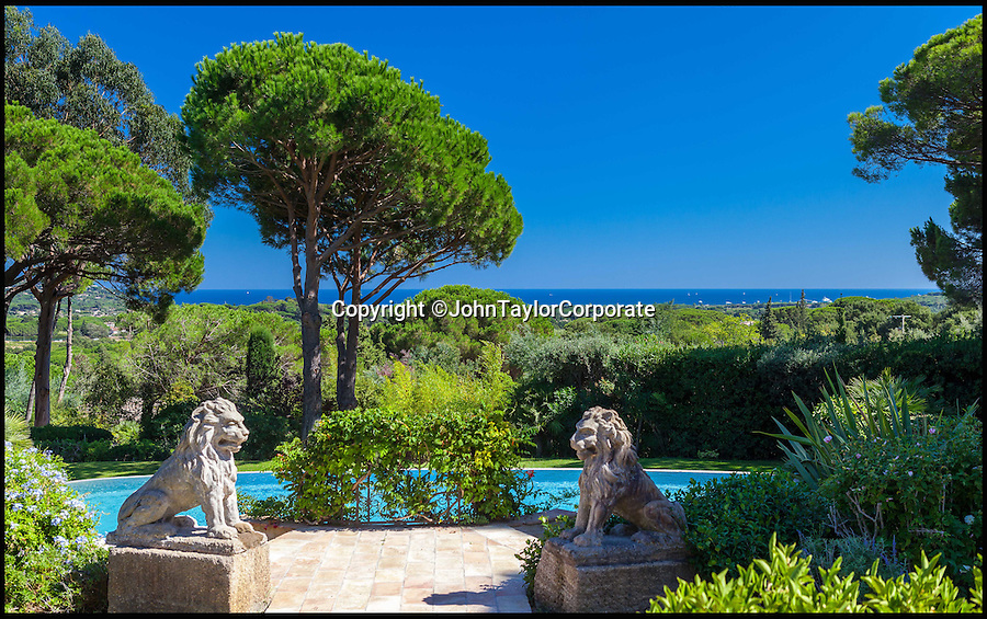 BNPS.co.uk (01202 558833)<br /> Pic: JohnTaylorCorporate/BNPS<br /> <br /> A stunning home on the French riviera which once belonged to the late George Michael is on the market.<br /> <br /> The Wham frontman owned the lavish property in Ramatuelle, near St Tropez, in his 1980s heyday.<br /> <br /> The six bedroom home, which was renovated in 2014, is on the market for £10.3million (11.9 million euros).<br /> <br /> The villa, which is nestled close to the St Tropez and Pampelonne beaches, has a big swimming pool, a gym and sea views.