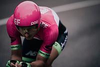 Sacha Modolo (ITA/EducationFirst-Drapac)<br /> <br /> stage 16: Trento – Rovereto iTT (34.2 km)<br /> 101th Giro d'Italia 2018