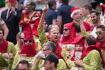 Atmosphere during HSBC Hong Kong Rugby Sevens 2017 on 08 April 2017 in Hong Kong Stadium, Hong Kong, China. Photo by Marcio Rodrigo Machado / Power Sport Images