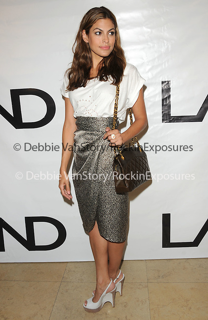 Eva Mendes at the Los Angeles Nomadic Division 1st Annual Benefit held at The Sunset Tower Hotel in West Hollywood, California on July 15,2010                                                                               © 2010 Debbie VanStory / Hollywood Press Agency