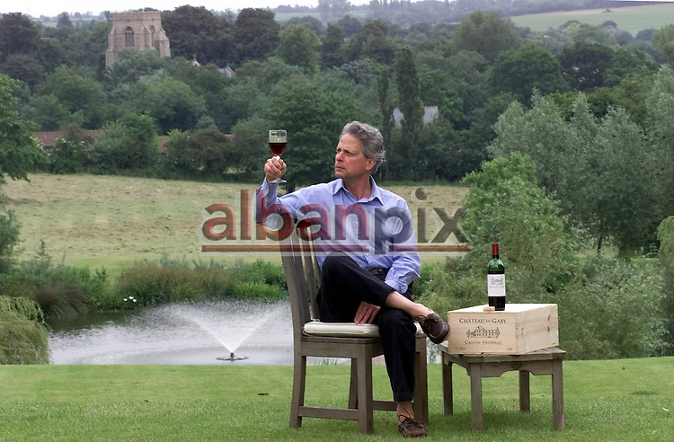Ex Merchant banker Anntione Khayatt who now owns a vinyard in Bordeaux and lives in Hargrave, Suffolk